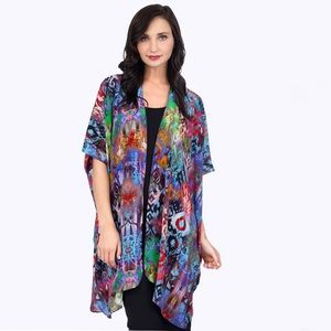 Tianello Majestic Washable Silk Zen Robe
